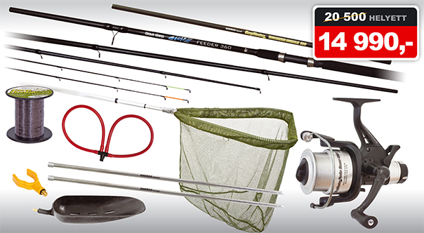 Carp Hunter Feeder szett