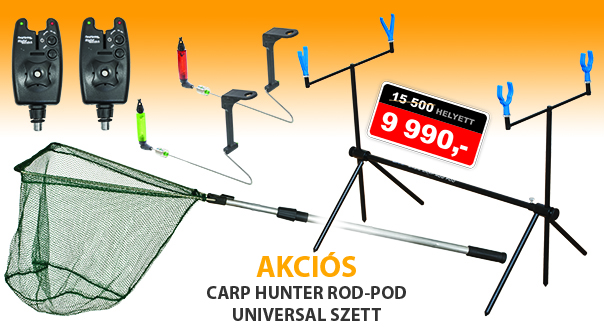 Carp Hunter rod-pod universal szett