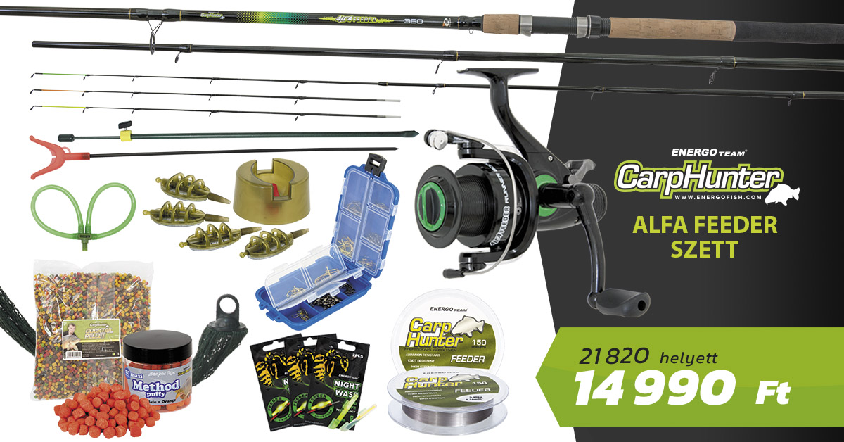 CARP-HUNTER-ALFA-FEEDER-SZETT