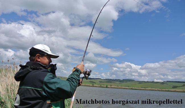 Matchbotos horgászat mikropellettel