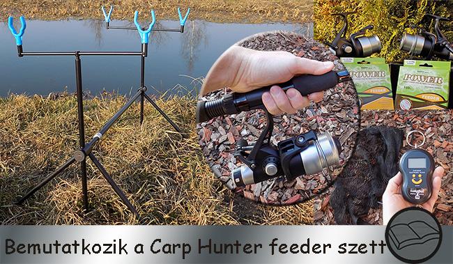 Bemutatkozik a Carp Hunter Feeder szett