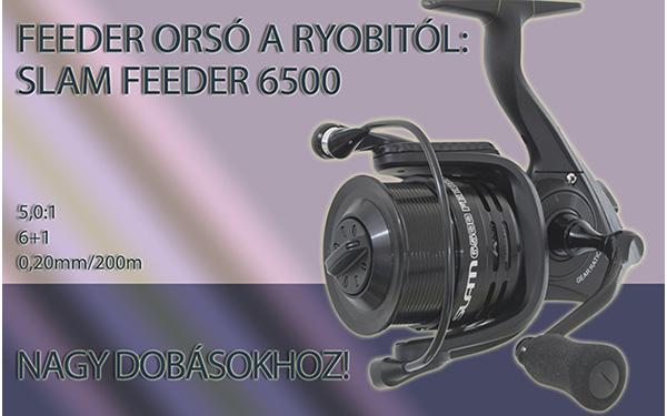 Feederorsó a Ryobitól: Slam Feeder 6500