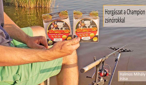 Horgászat a Champion zsinórokkal