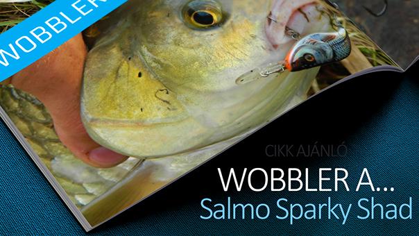 Egy wobbler a csúcson: Salmo Sparky Shad