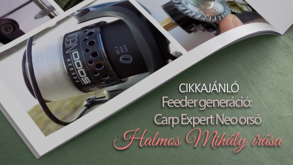 Feeder generáció: Carp Expert Feeder Neo orsó