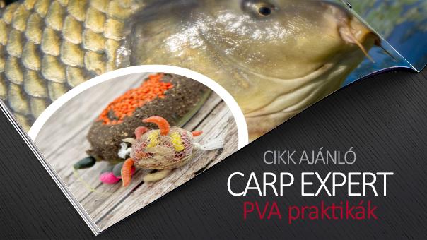 Carp Expert PVA praktikák
